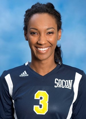 Briana Reid 2014 Volleyball University Of Tennessee At Chattanooga Athletics
