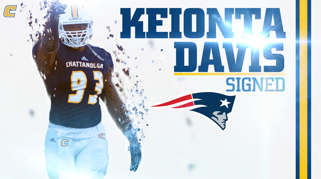 Keionta Davis Signs With the Patriots - University of Tennessee at ...